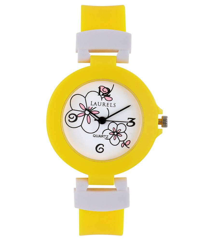Laurels Kids Series Watch (lo-kd-3008) - White