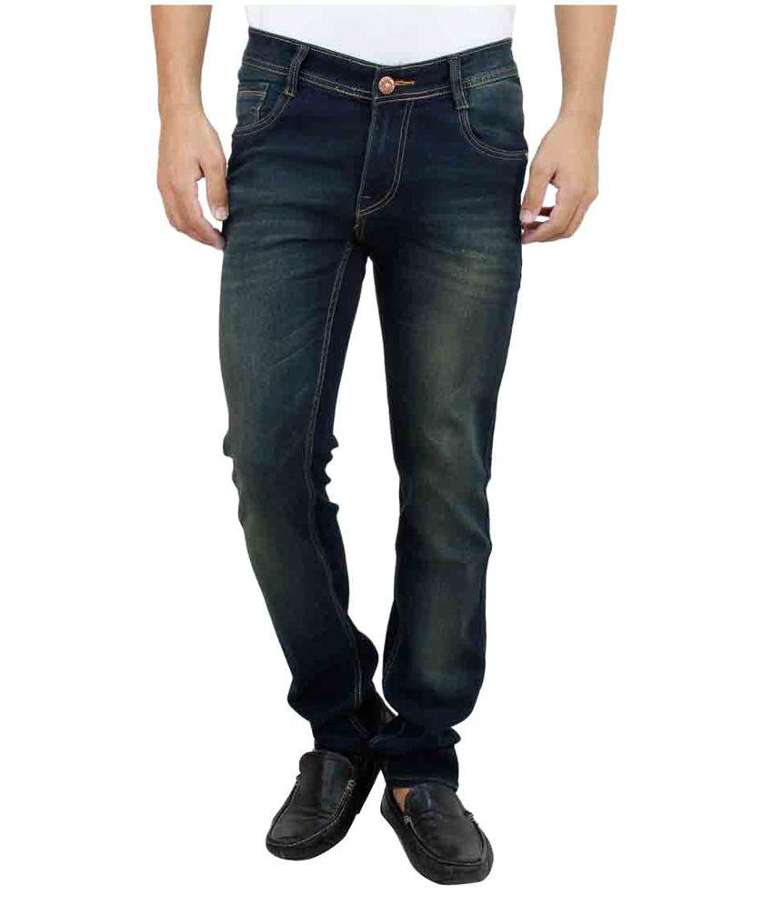 Trendy Bandey Blue Regular Fit Jeans