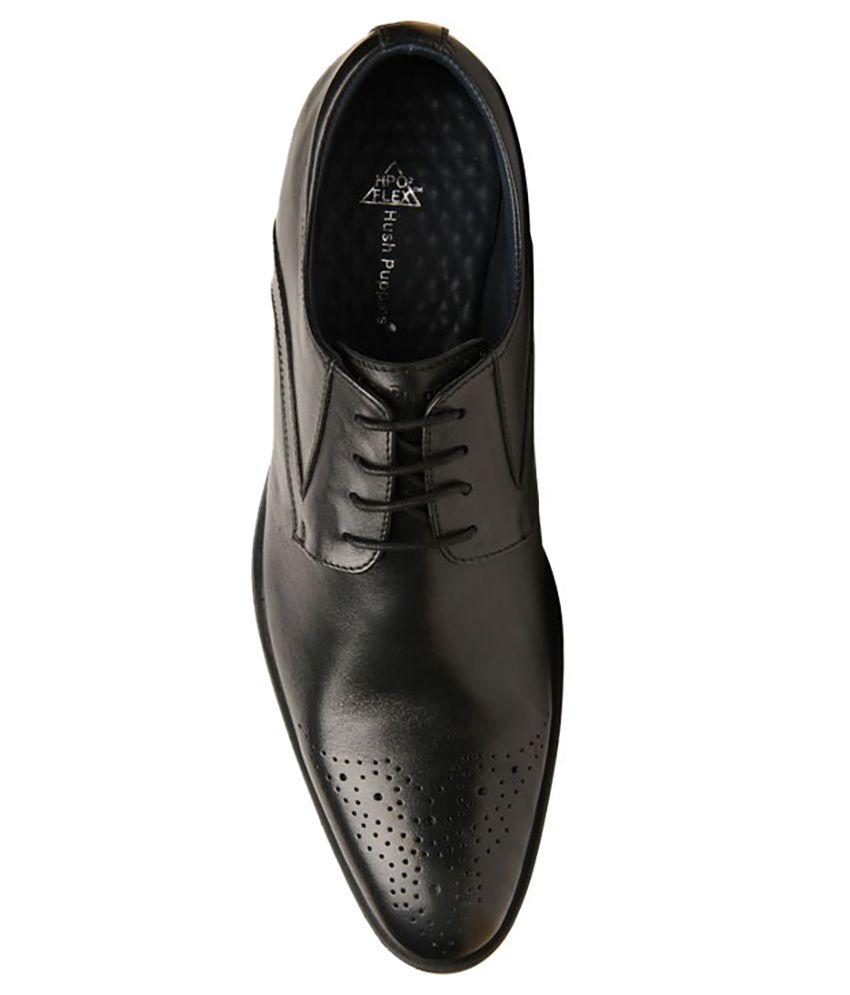 Buy Hush Puppies Black Formal Shoes