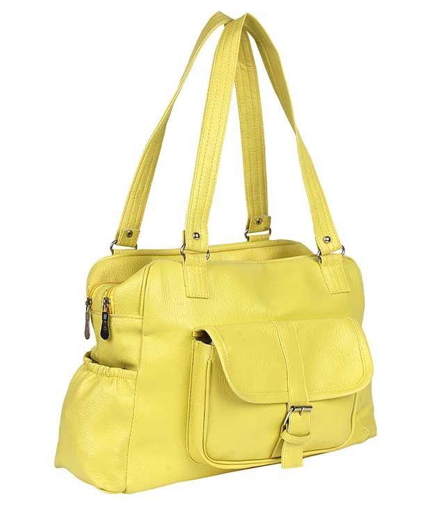 Jewel Fuel Yellow Shoulder Bag
