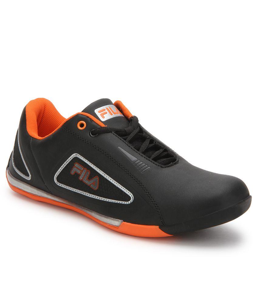 fila gentile black casual shoes buy fila gentile black