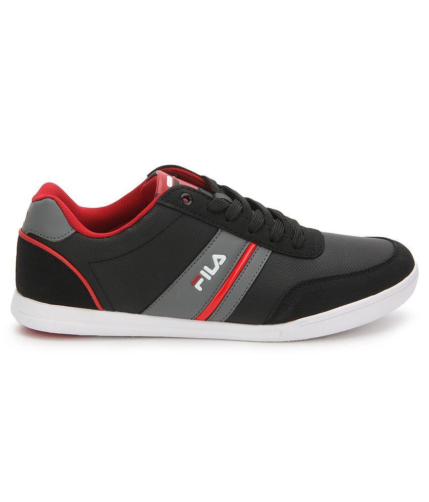 ae0fb3ec6290 Fila Nofri Black Casual Shoes - Buy Fila Nofri Black Casual Shoes ...