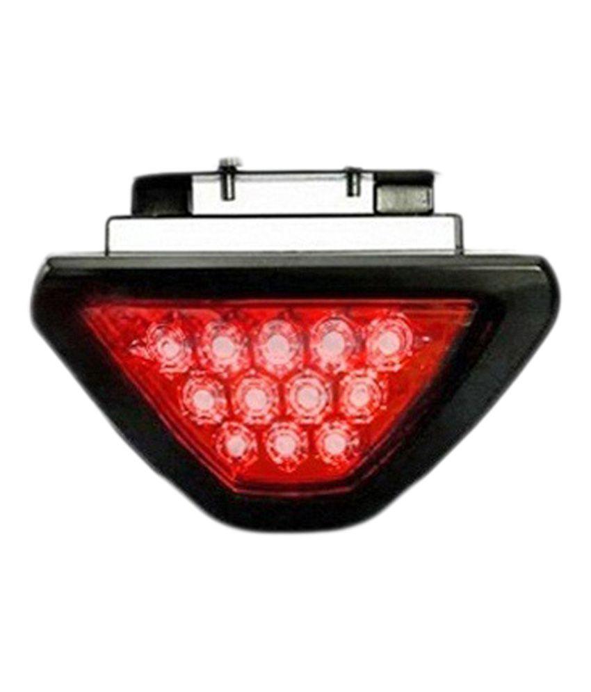 Takecare 12 Red LED Flashing 3rd Brake Lamp Light for Scoda Rapid