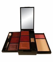 Anna Andre, Paris Make Up Kit 10052 (Lipstick, Lip Gloss, Eye Shadow, Blush and Compact)
