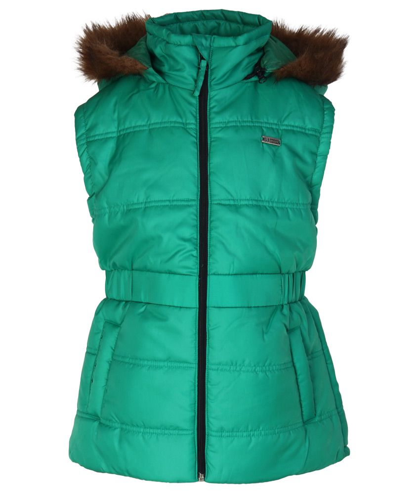Gini & Jony Green Hooded Jacket