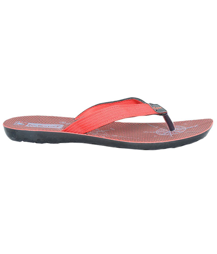 6f22b6b85 VKC Fashionable Red Slippers Price in India- Buy VKC Fashionable Red ...