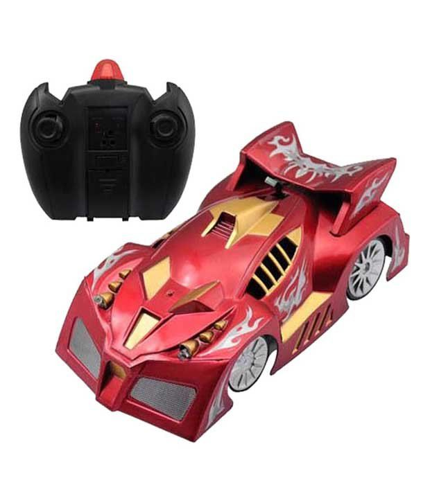 Fantasy India Fantasy India Multicolor Remote Control Wall Climber Toy Car