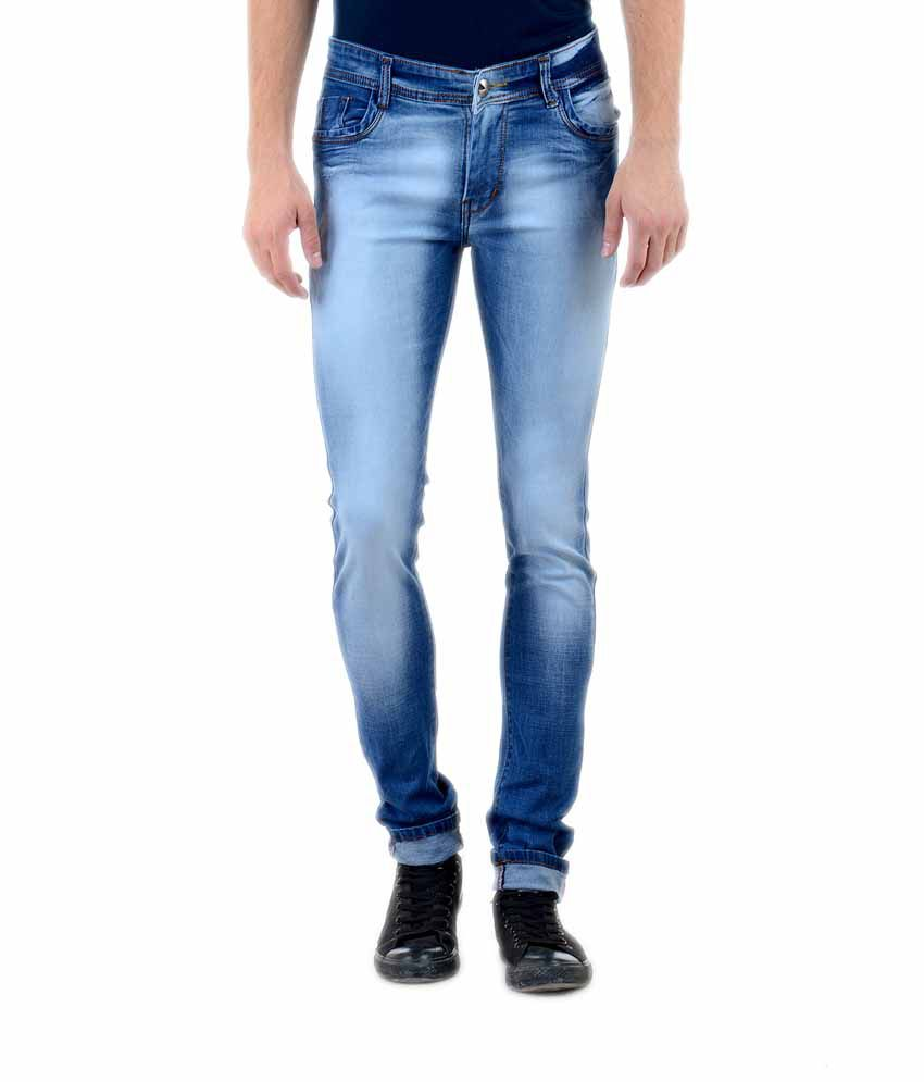 Blue Forest Blue Slim Fit Jeans