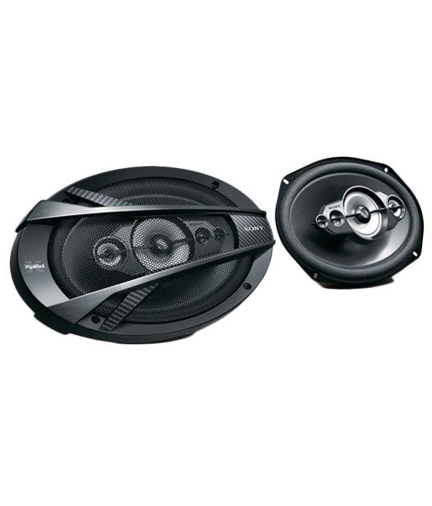 sony black car speaker buy sony black car speaker    price  india  snapdeal