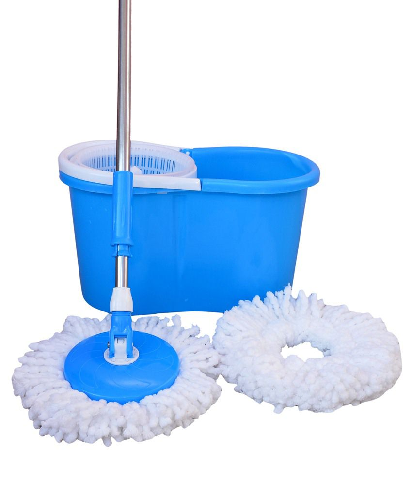Easy Clean 360 Degree Rotating Bucket Mop Color As Per