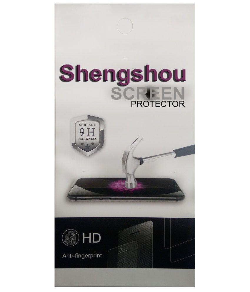 Shengshou Clear Screen Guar For Lava Iris 350 M