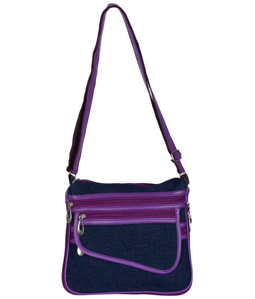 Dora Bag Mall Blue Sling Bag