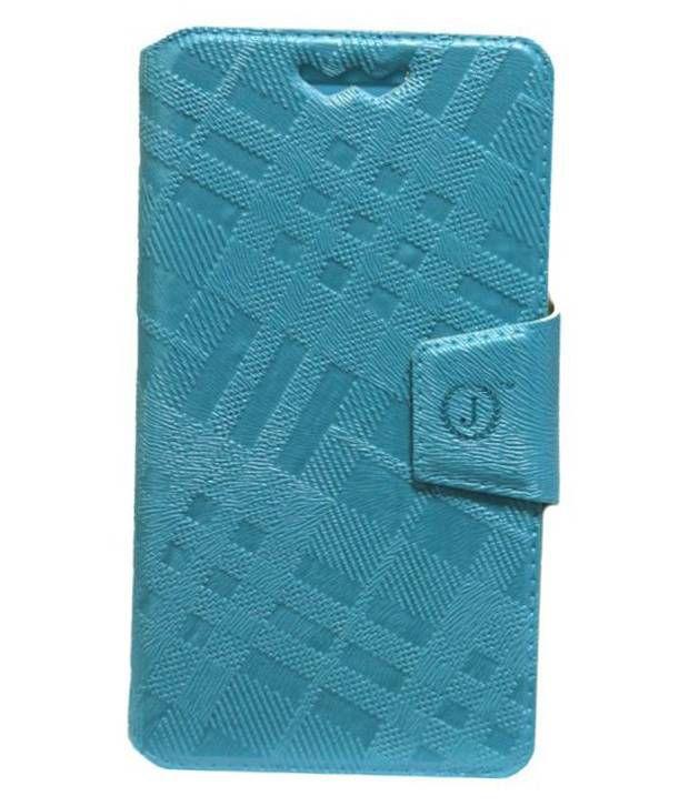 Jo Jo Flip Cover For HTC One XL - Blue
