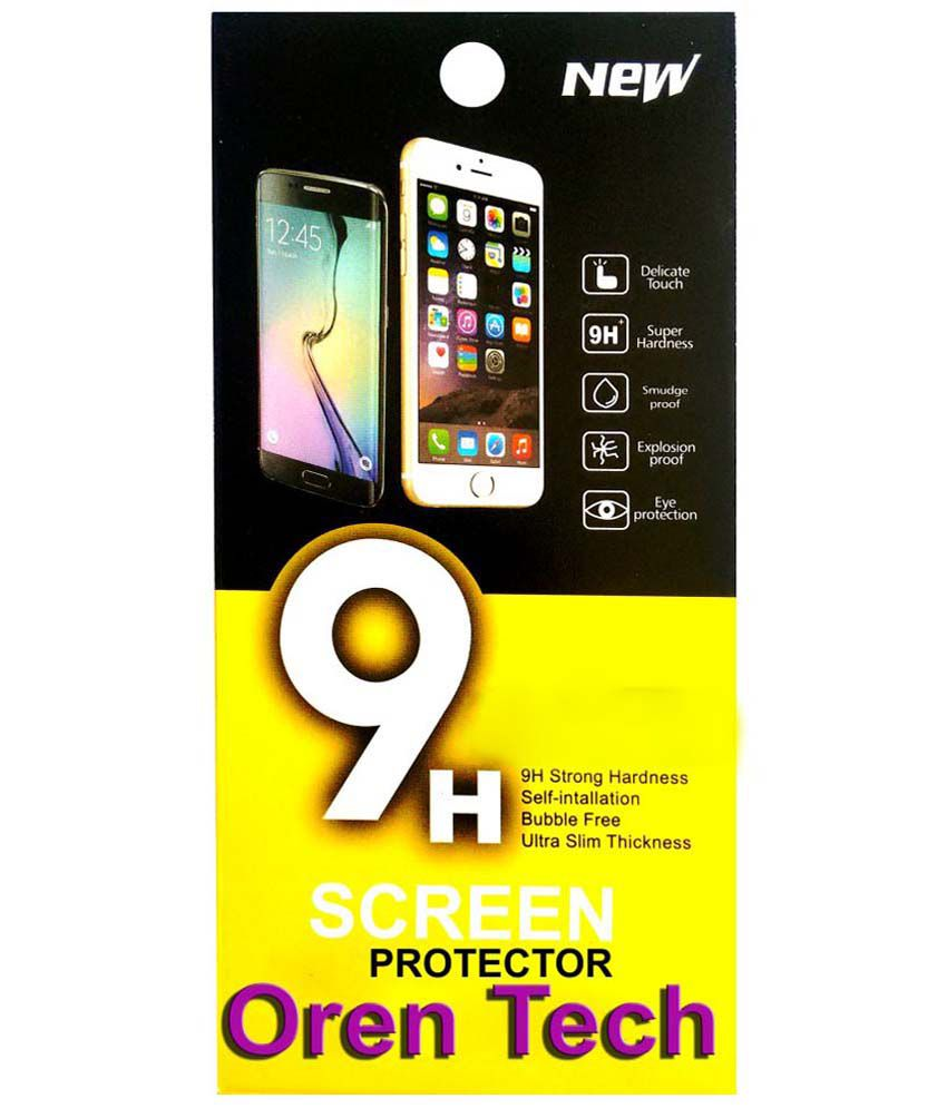 OrenTech WhiteLilly SG162 Screen Guard For Micromax Canvas 2 Colors A120 with 8 GB ROM