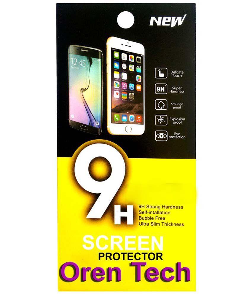 OrenTech WhiteLilly SG382 Screen Guard For htc Desire D 300