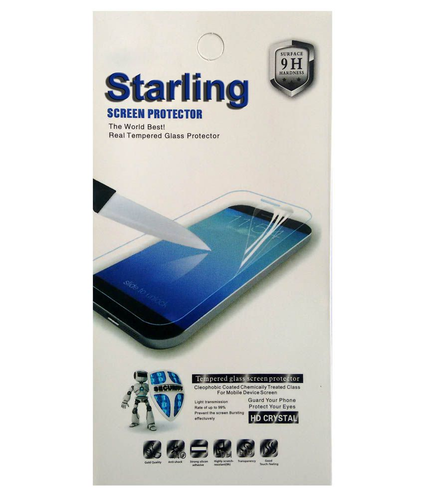 Starling Tempered Glass Screen Guard For Motorola Moto G