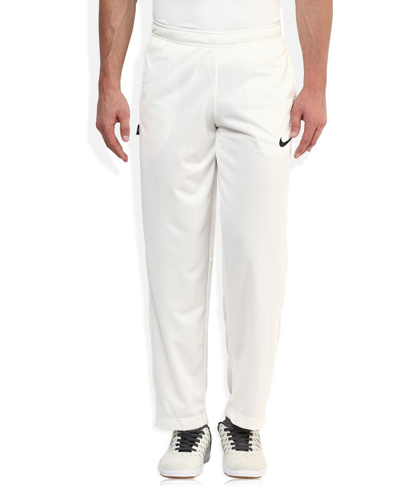 finest selection picked up exquisite design Nike White Trackpants