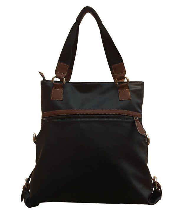 Ekora Black Shoulder Bag