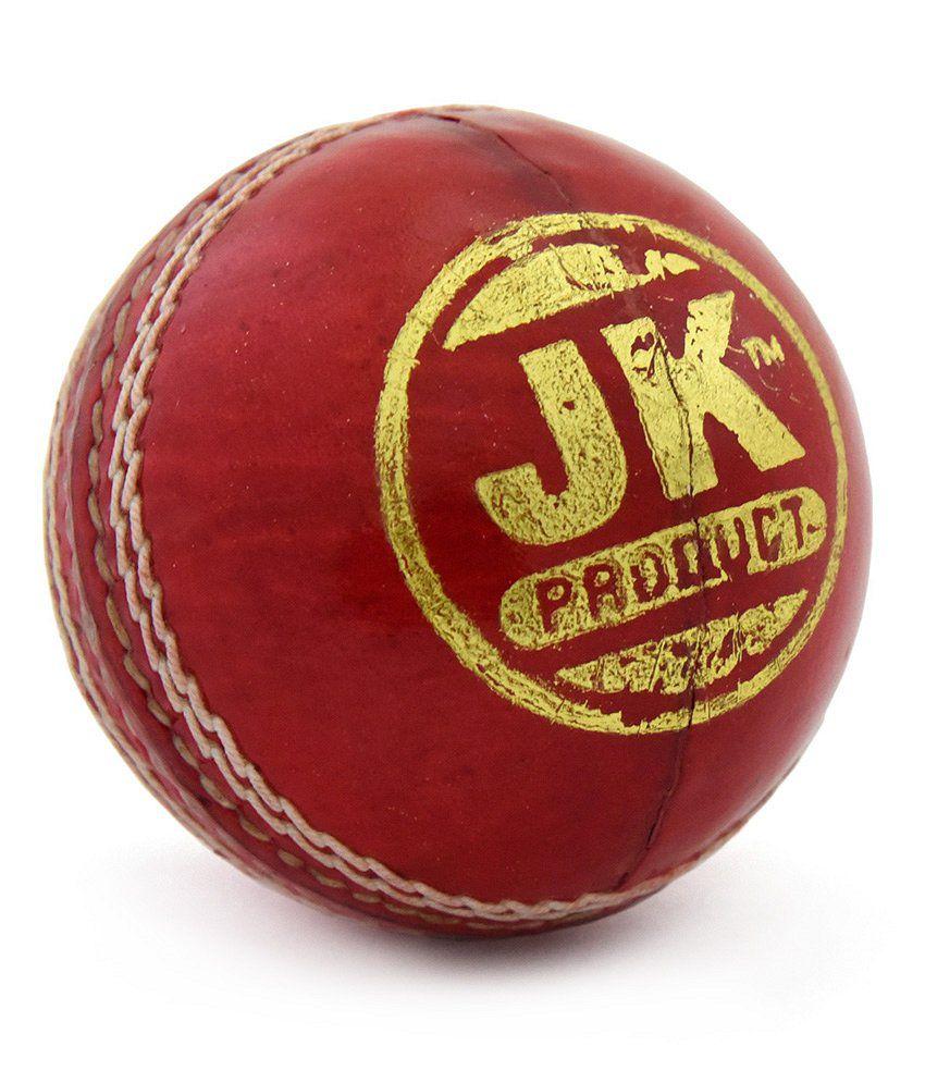 JK Sports Club-Cricket Leather Ball
