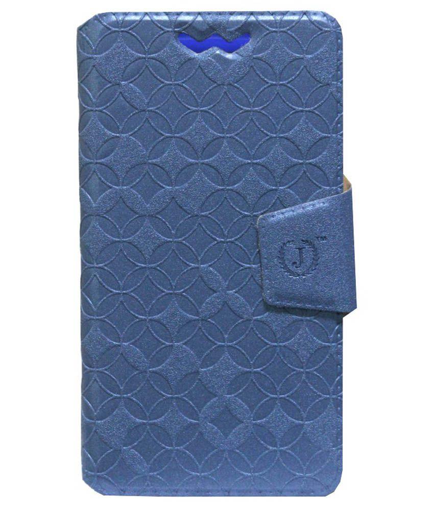 Jo Jo Flip Cover For BLU Studio 5.0 S - Blue