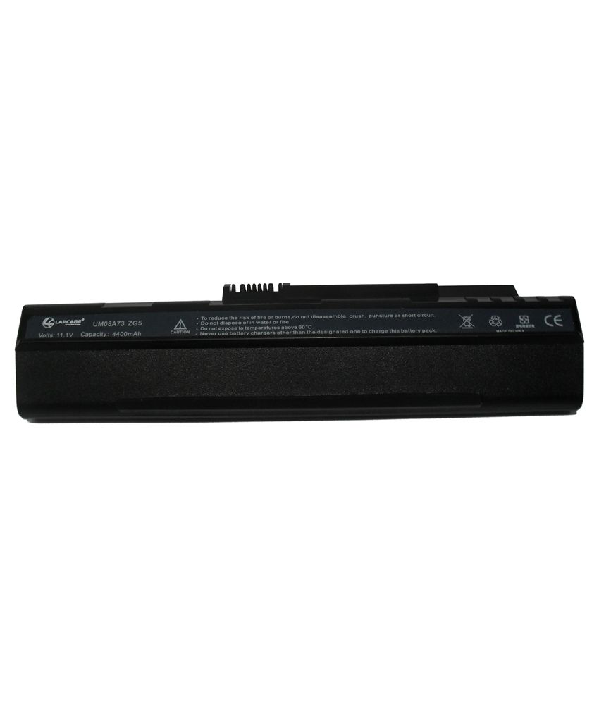 Lapcare Laptop Battery For Acer Aspire One ZG5 with actone mobile charging data cable