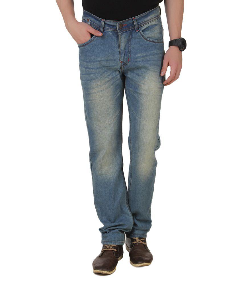4Stripes Blue Slim Fit Jeans