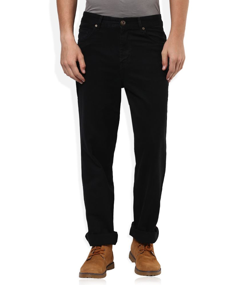 Sin Black Regular Fit Jeans