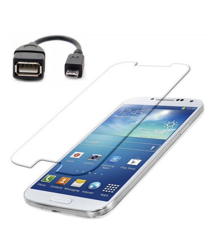 Samsung Galaxy Core Tempered Glass Screen Guard by Duisah