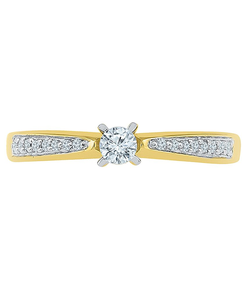 Radiant Bay 18kt Gold Diamond Ring