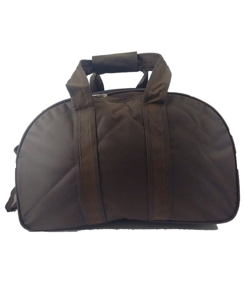 5dd17cf3a Vcare Brown Polyester 22 Inch Large Duffel Trolley Bag - Buy Vcare ...