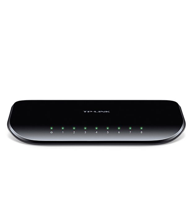 TP-LINK 10/100/1000 Mbps 8 Ports Switch (TL-SG1008D)