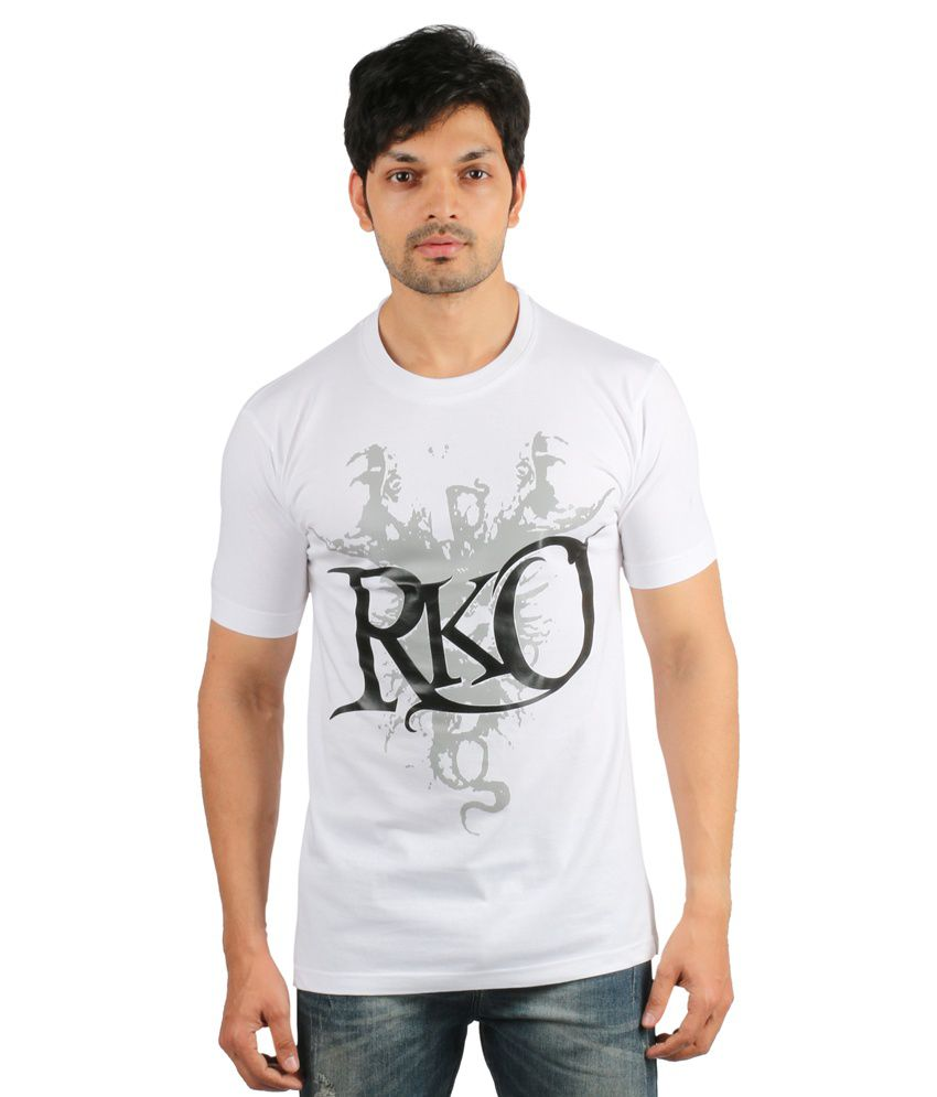 Counter Culture White Cotton T-Shirt