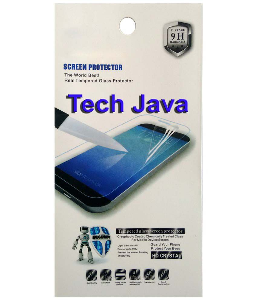 TechJava Clear Screen Guard For Micromax Canvas Power A96