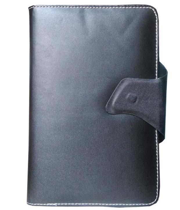 VPS Flip Cover For iBall PC Slide I 6012 - Black