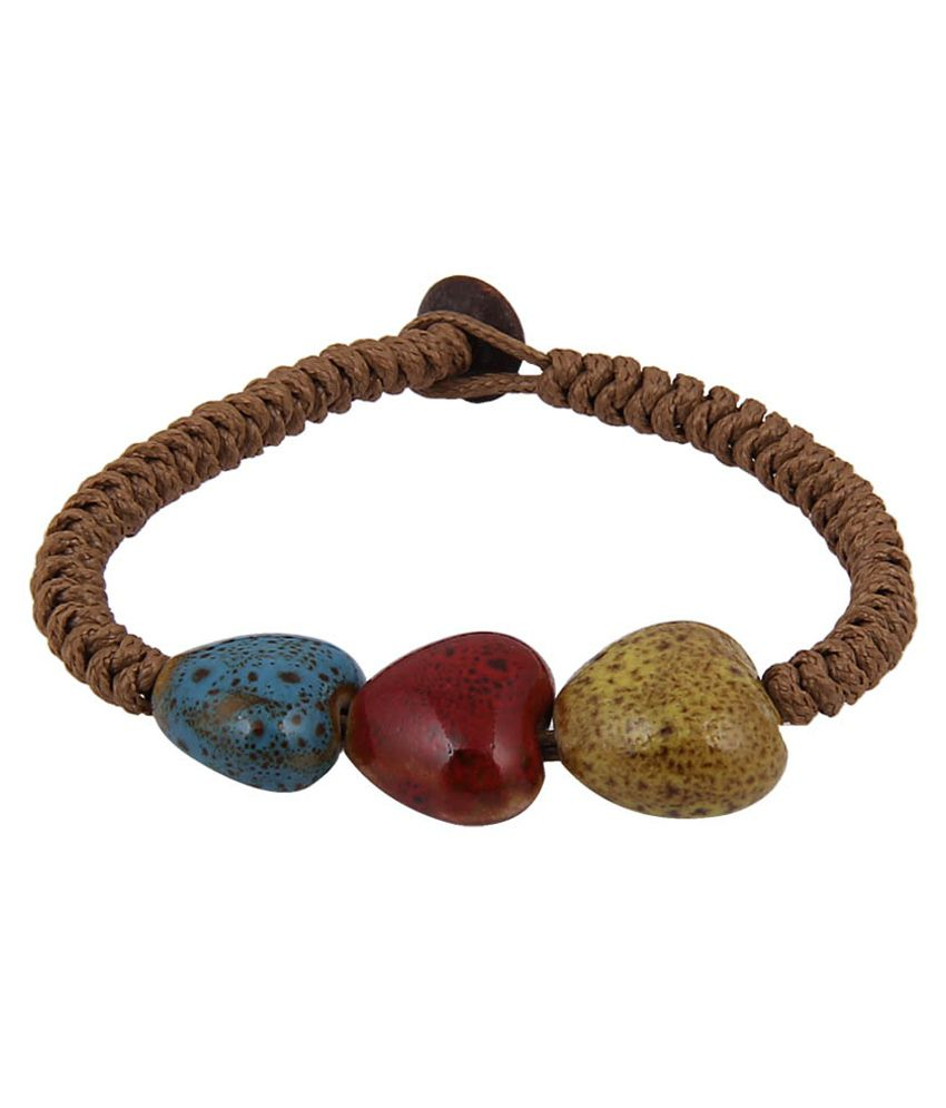 Jewelizer Multicolour Casual Hit Bracelet