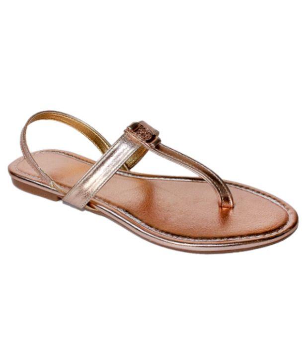 Promenade Brown Sandals