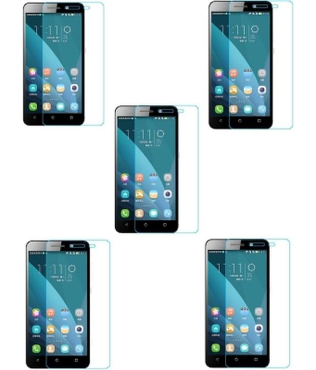 Accezory Screen Guards for Huawei Honor 4C (Pack of 5)