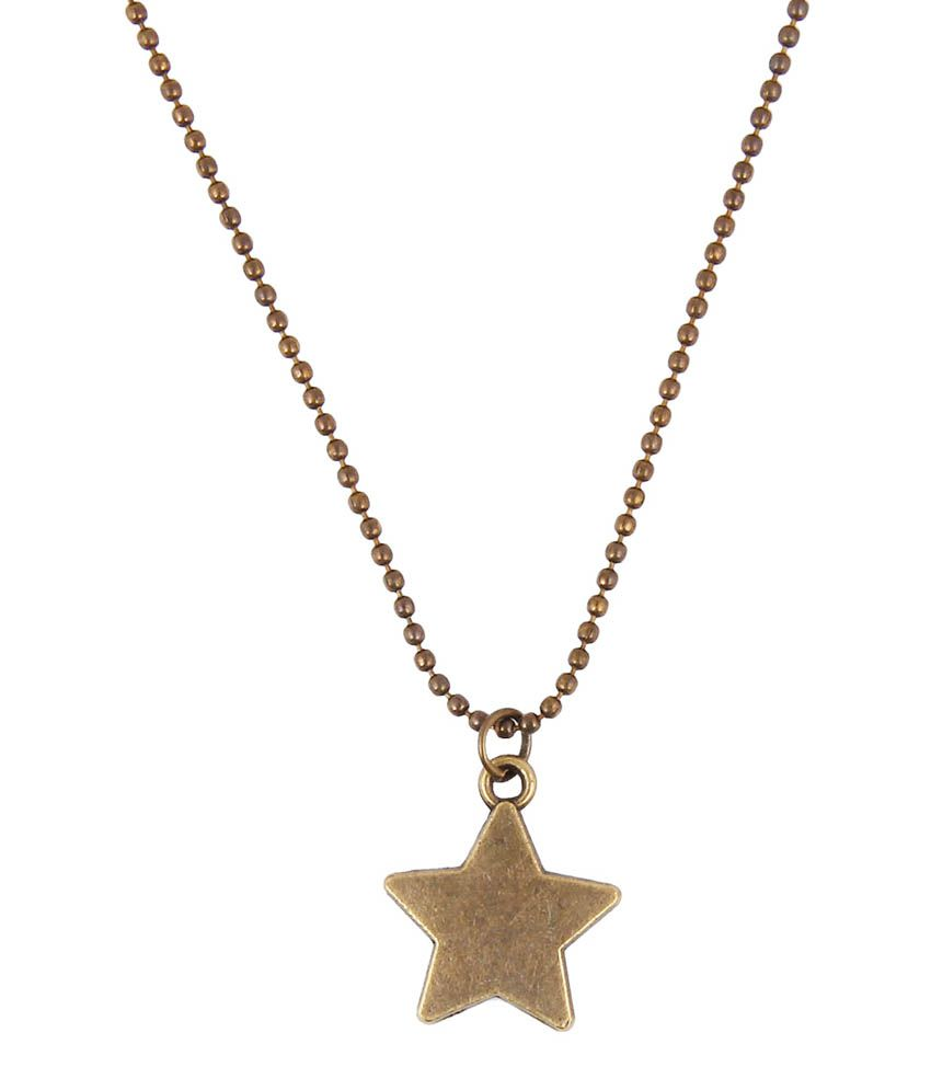 Jewelizer Multicolour Alloy Necklace