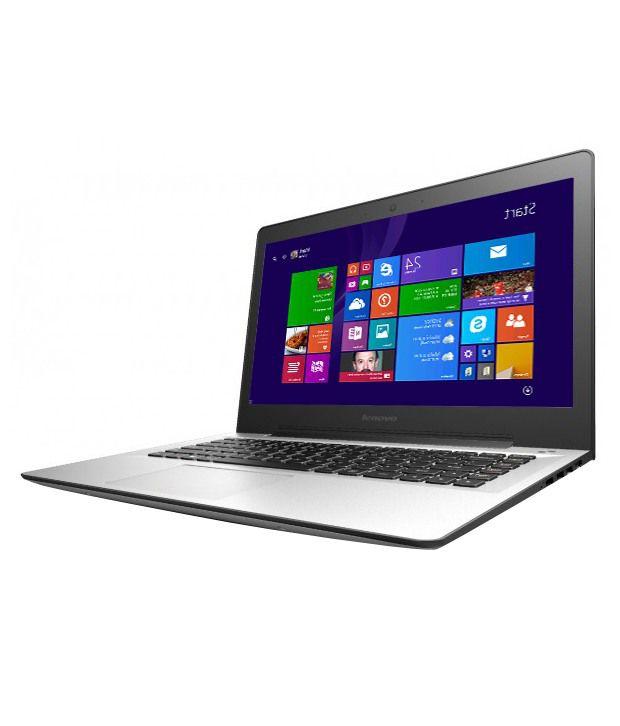 Lenovo U41-70 Notebook (80JV00HKIN) (5th Gen Intel Core i3- 4GB RAM- 1TB HDD- 35.56 cm (14.0)- Windows 8.1) (Silver)