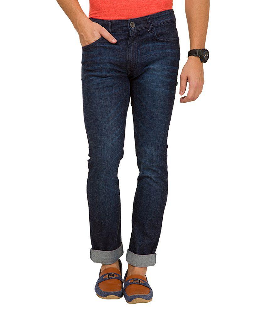 Locomotive Navy Skinny Fit Jeans