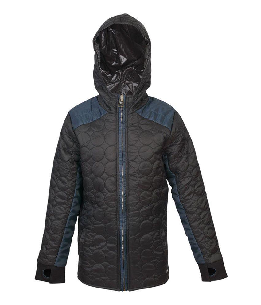 ELLO Black Full Sleeves With Hood Jacket