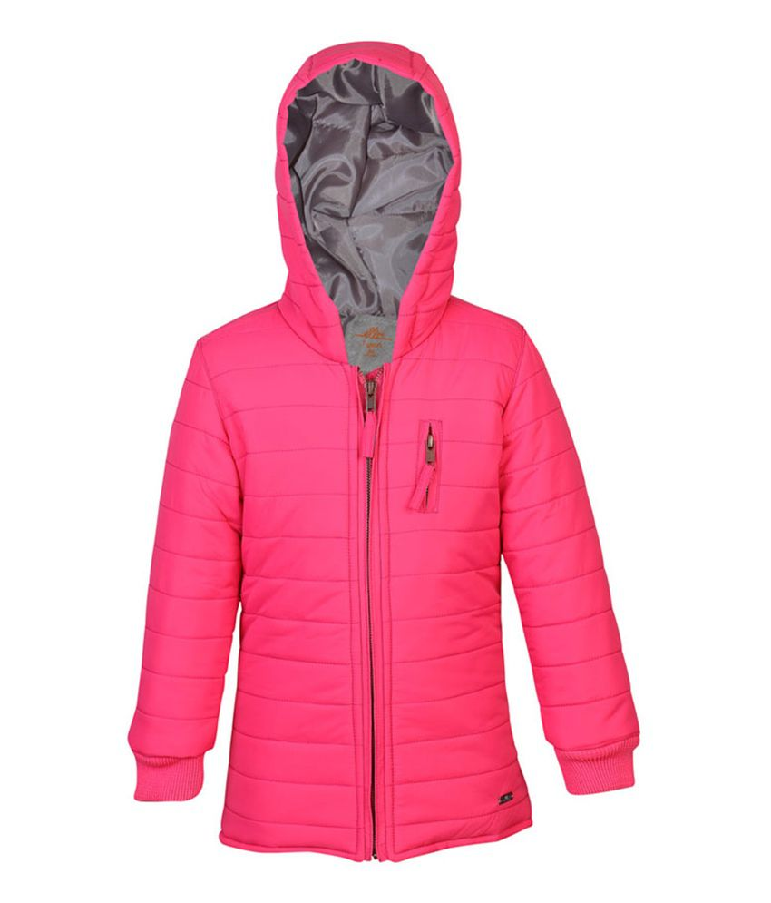 ELLO Pink Sleeveless With Hood Jacket