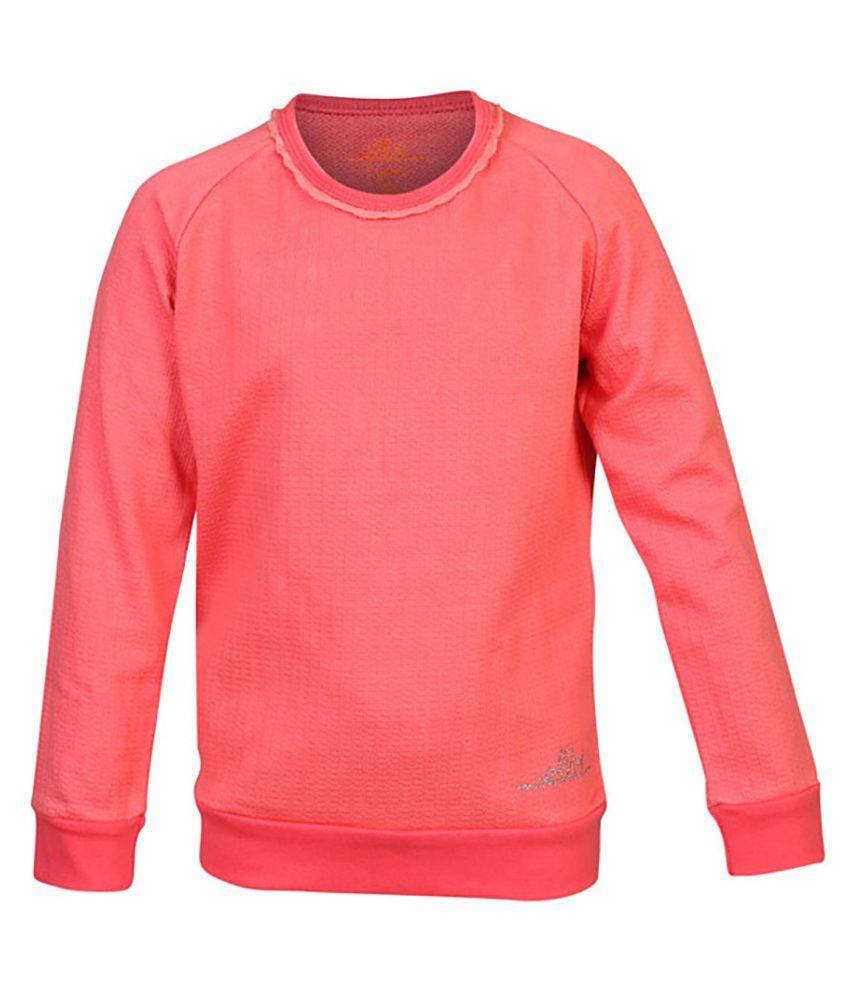 ELLO Pink Without Hood Sweatshirt