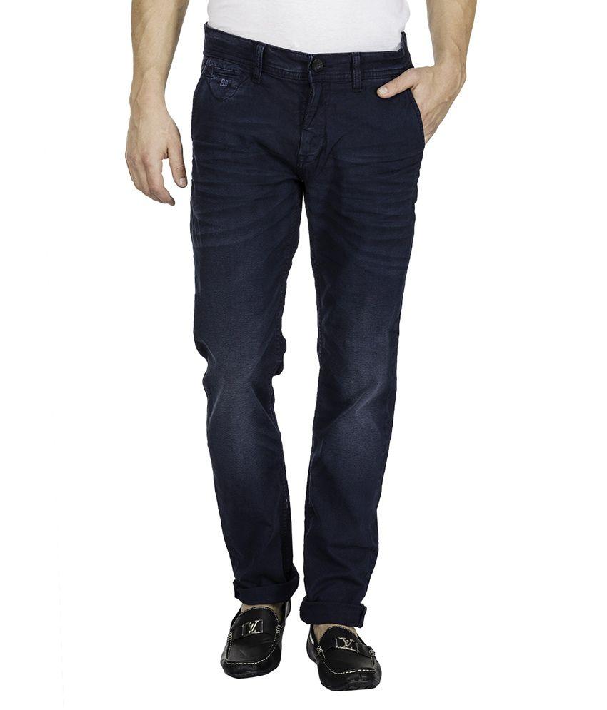 Mufti Navy Slim Fit Trouser