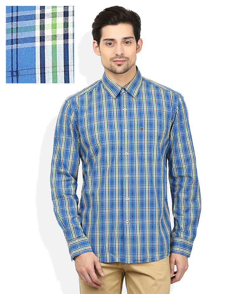 Proline Blue Checkered Shirt