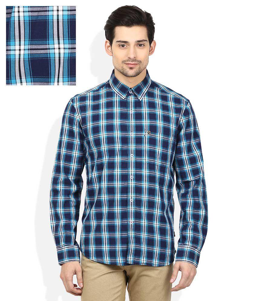 Proline Blue Checkered Shirt