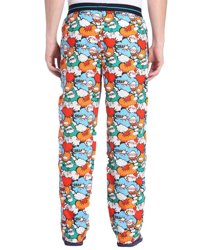 Qualität und Quantität zugesichert billiger Verkauf populärer Stil Jack & Jones Multicoloured Printed Pyjamas