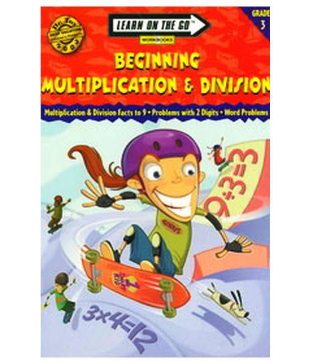 Number Names Worksheets beginning multiplication games : Learn On The Go Beginning Multiplication & Divis- Ion Grade 3: Buy ...