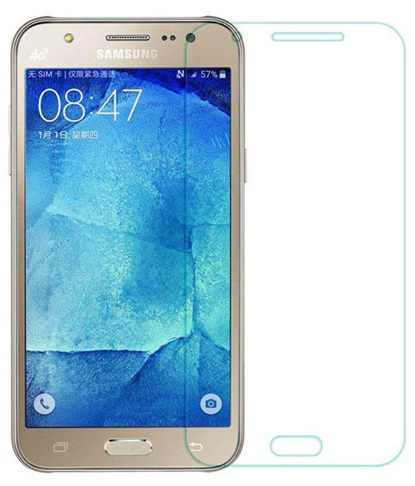 Samsung Galaxy J5 Tempered Glass Screen Guard by PraIQ