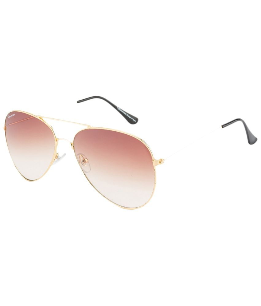 d7c07fe377 Oxyzone Pink   Golden Unisex Aviator Sunglasses - Buy Oxyzone Pink   Golden  Unisex Aviator Sunglasses Online at Low Price - Snapdeal
